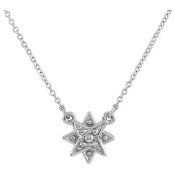 "14K Gold ""Star in your Heaven"" Necklace"