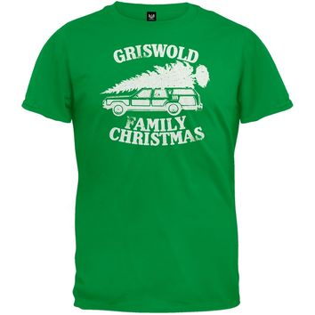 Christmas Vacation - Griswold Family Christmas Green T-Shirt