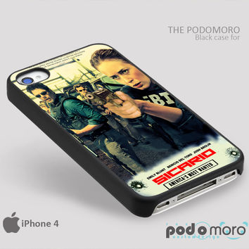 Sicario America's Most Wanted for iPhone 4/4S, iPhone 5/5S, iPhone 5c, iPhone 6, iPhone 6 Plus, iPod 4, iPod 5, Samsung Galaxy S3, Galaxy S4, Galaxy S5, Galaxy S6, Samsung Galaxy Note 3, Galaxy Note 4, Phone Case