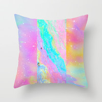 Get Away With It Throw Pillow by Danny Ivan