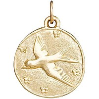 Swallow Coin Charm