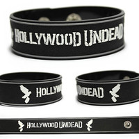 HOLLYWOOD UNDEAD Rubber Bracelet Wristband Notes from the American Tragedy