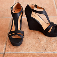 Kesley Wedge - Black