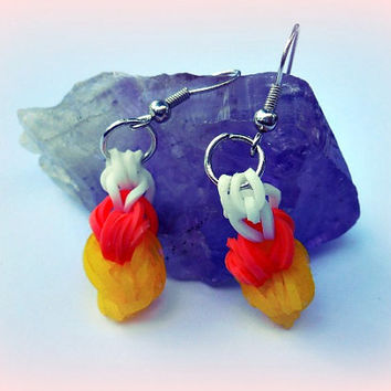 Cute Happy Halloween Earrings, Trick or Treat, Halloween Candy, Fun Jewelry, Direct Checkout,