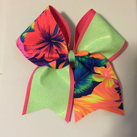 Hawaiian Cheer Bow