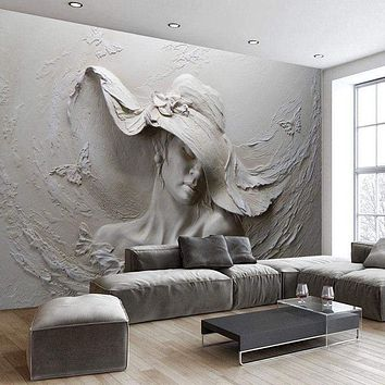 3D Modern Abstract Art Wall Mural Wallpaper