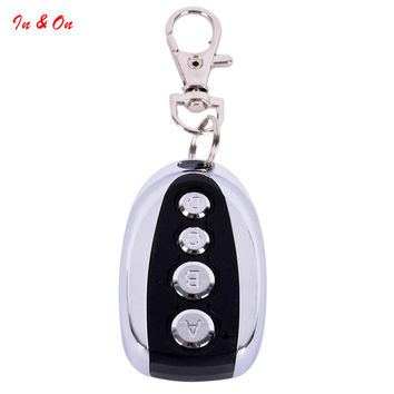1PC Remote Control Cloning Gate for Garage Door Car Alarm Products Keychain 433 Mhz