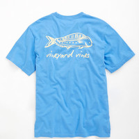 Tribal Dolphin Graphic T-Shirt