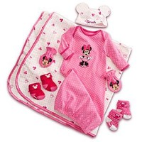 Minnie Mouse Welcome Home Set for Baby - Personalizable | Disney Store