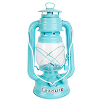 Hurricane Lantern, Turquoise, Outdoor Games & Equipment