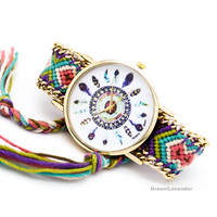 Dreamcatcher bracelet watch (5 colors)
