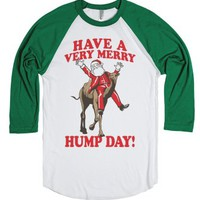 White/Evergreen T-Shirt | Fun Christmas Shirts