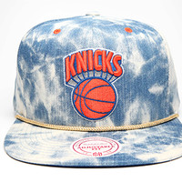 Acid Wash Denim Snapback - Mitchell & Ness Nostalgia Co.