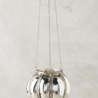 Hanging Mercury Glass Lantern by Anthropologie in Silver Size: One Size Garden