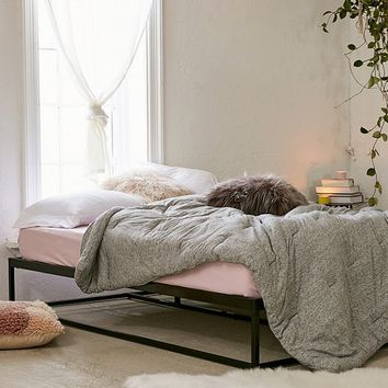 Minimal Platform Bed Frame | Urban Outfitters