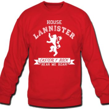 House Lannister Sweatshirt Crew Neck