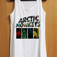 Arctic Monkeys Band tank top for womens and mens heppy feed