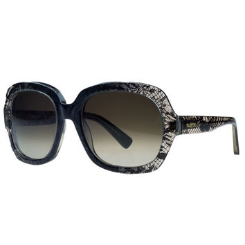 Valentino Grey Square Sunglasses