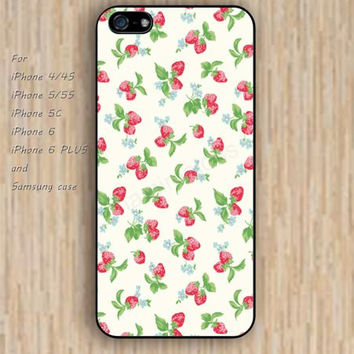 iPhone 5s 6 case cartoon Strawberry dream catcher colorful phone case iphone case,ipod case,samsung galaxy case available plastic rubber case waterproof B612