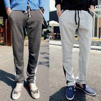 Men Fashion Sweat Pants with Drawstring