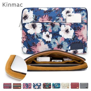 "New Brand Kinmac Sleeve Case For Laptop 13"",14"",15"",15.6 inch Notebook Bag For MacBook Air Pro 13.3,15,4 Free Drop"