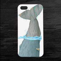 Whale Tail Moby Dick iPhone Case for 4 and 5