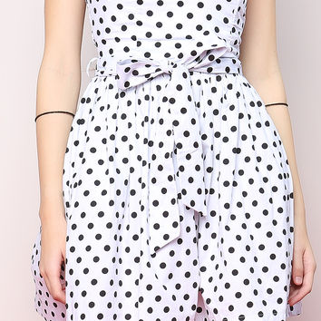 Polka Dot Tubetop Dress