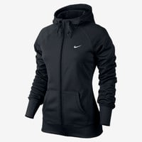 Nike All Time Full-Zip Women's Training Hoodie - Black