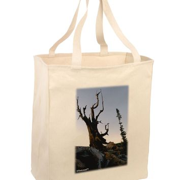 Colorado Mountain Scenery Large Grocery Tote Bag by TooLoud