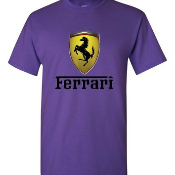 Ferrari Purple T-Shirt