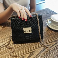 Mini Elegant Crocodile Purse