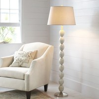 Jolie Mother-of-Pearl Floor Lamp Base