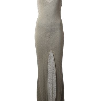 Christian Dior Vintage Knitted Long Dress