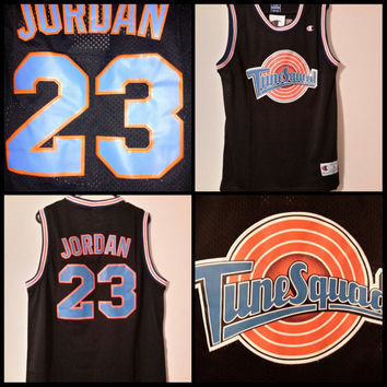 Custom Space Jam Toon Squad Away jersey