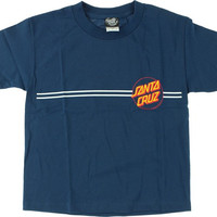 Santa Cruz Other Dot Yth Tee Large Denim Heather