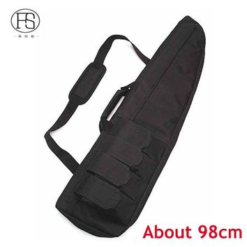 High Quality Nylon Tactical Hunting Gun Holster Military Rifle Backpack Outdoor Hunting War Game Gun Bag Fishing Bags