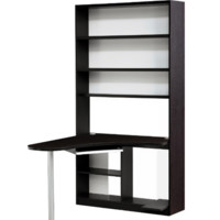 Home office computer table desk with integrated bookcase. FREE DELIVERY IN PR!