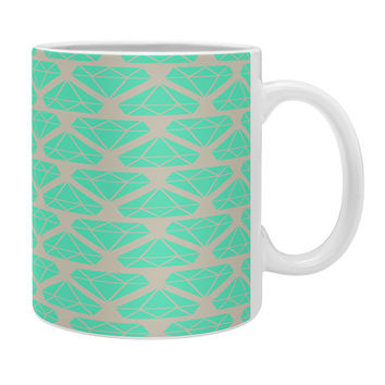 Allyson Johnson Mint Diamonds Coffee Mug