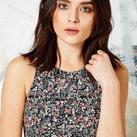 Swim Crop Top in Floral Print - Urban Outfitters
