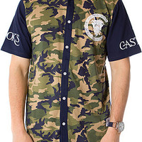 The Slugger Baseball Jersey in Military Woodland Camo