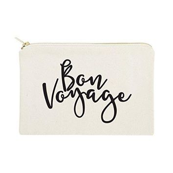 Bon Voyage Cosmetic Bag and Travel Make Up Pouch