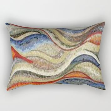 mosaic Rectangular Pillow by exquisite