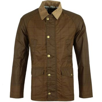 Coltdale Waxed Jacket in Peat Brown by Barbour