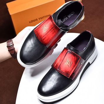 Louis Vuitton Men Fashion Casual Shoes
