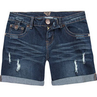 DIAMOND Roll Cuff Womens Denim Shorts 191532827 | shorts | Tillys.com