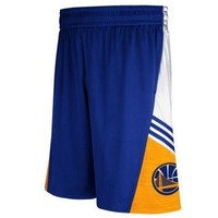 Golden State Warriors adidas 2014 Pre-Game Shorts ¨C Royal Blue