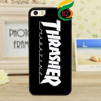 thrasher 4  fashion phone Case cover for iphone 4 4S 5 5S 5C SE 6 plus 6s plus 7 7 plus &zz197