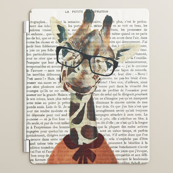 Giraffe Bonjour Paris iPad Cover - World Market