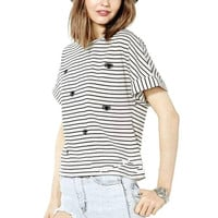 New Hot Fashion Womens Casual Blouse Short Foever21 Like Sleeve Shirt T shirt Summer Blouse Tops = 4720390276