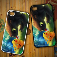 toothless and pikachu Y1835LG G2 G3, Nexus 4 5, Xperia Z2, iPhone 4S 5S 5C 6 6 Plus, iPod 4 5 Case